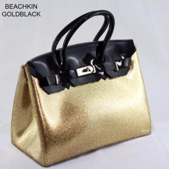 Limited Edtition Beachkin Jelly Bag (Black/Gold) Price Philippines