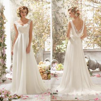 Linemart Women Wedding Evening Formal Dresses - picture 3