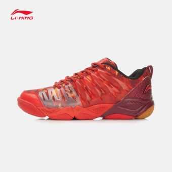 Lining breathable cushioning wear and badminton shoes authentic sports shoes