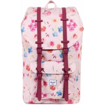 Little America Backpack 23.5L 100% AUTHENTIC (Ruby Khaki Floral)