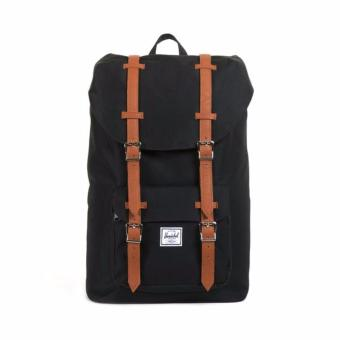 Little America Backpack 25L 100% AUTHENTIC Black/Tan