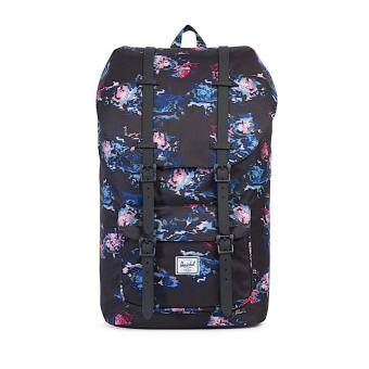 LITTLE AMERICA BACKPACK 25L 100% AUTHENTIC FLORAL BLUR