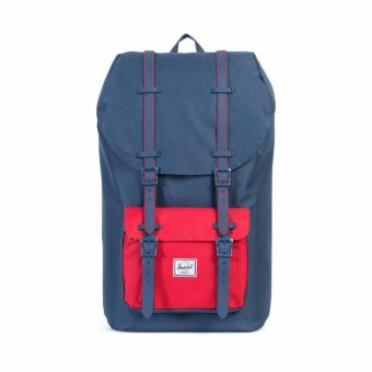 LITTLE AMERICA BACKPACK 25L 100% AUTHENTIC NAVY/NAVY/RED
