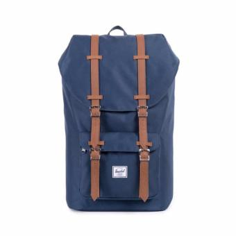 Little America Backpack 25L 100% AUTHENTIC NAVY/TAN