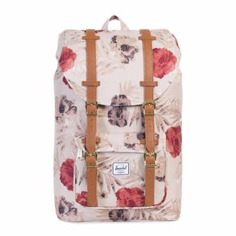 LITTLE AMERICA BACKPACK 25L 100% AUTHENTIC PELICAN FLORIA/TAN