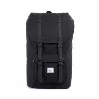 LITTLE AMERICA MID VOLUME BACKPACK 100% AUTHENTIC BLACK WHITE LOGO Price Philippines