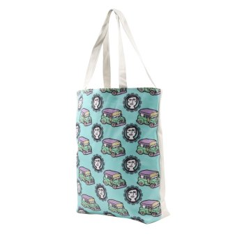 London Fashion Jeepney at Binibini Tote Bag (White) - picture 2