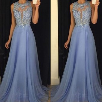 Long Formal Prom Dress Cocktail Party Ball Gown Evening Bridesmaid Dresses - intl