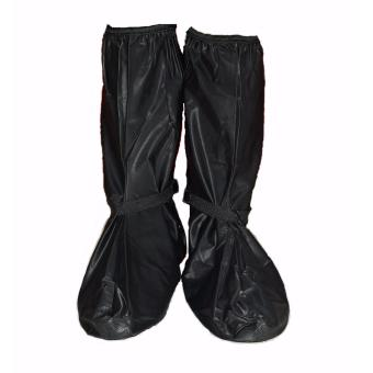 Long Rainy Day Rain Protective Waterproof Shoes Cover Black L Price Philippines