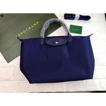 Longchamp Large Nylon Tote Bag From Italy NAVY BLUE Price Philippines