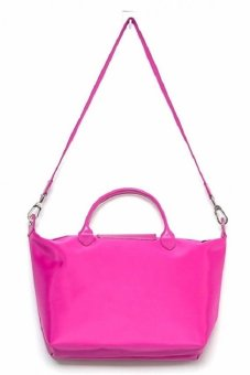 Longchamp Le Pliage Neo Large with Sling Tote Bag (Magenta) - 5