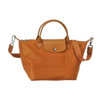 Longchamp Le Pliage Neo Medium Nylon Tote Bag (Caramel)