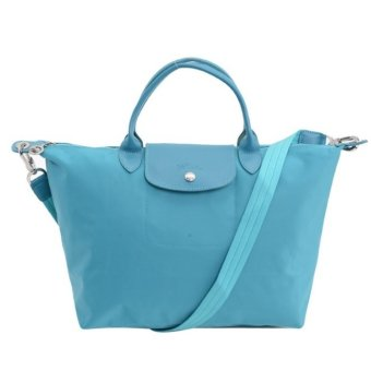 Longchamp Le Pliage Neo Medium Nylon Tote Bag (Turquoise) Price Philippines