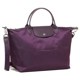 Longchamp Le Pliage Neo Medium Nylon Tote Bag (Violet)
