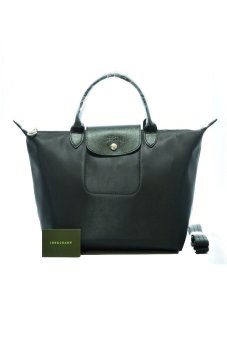 Longchamp Le Pliage Neo Medium Short-handle (Black) Price Philippines