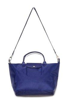Longchamp Le Pliage Neo Medium Short Handle (Navy Blue)