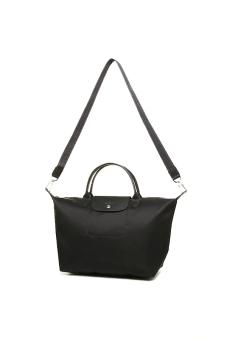 Longchamp Le Pliage Neo Medium Short Handle (Noir) - 4