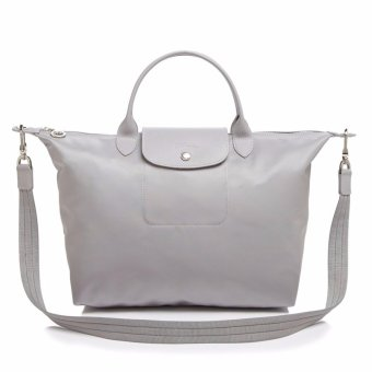 Longchamp Le Pliage Neo Medium Tote Bag (Gray) Price Philippines