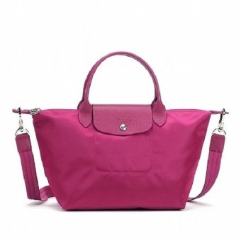Longchamp Le Pliage Neo Small Nylon Tote Bag (Pink)