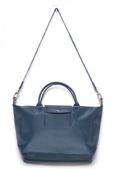 Longchamp Le Pliage Neo Tote Bag (Graphite)