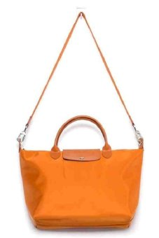 Longchamp Le Pliage Neo Tote Bag (Inca Gold)