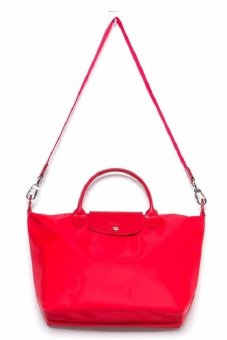 Longchamp Le Pliage Neo Tote Bag (Red)