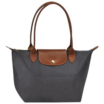 Longchamp Le Pliage Nylon Small Tote Long Handle Tote Bag, SLHGraphite Price Philippines