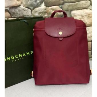Longchamp Neo Backpack in Maroon Price Philippines
