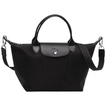 Longchamp Neo Medium Le Pliage Short Handle Tote Bag (Black) Price Philippines