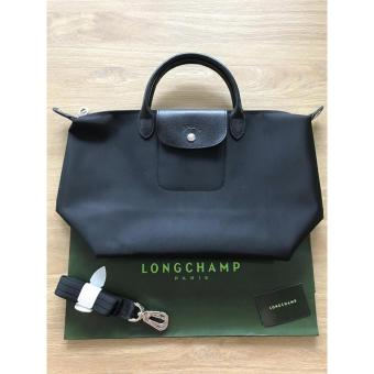 LONGCHAMP NEO MEDIUM TOTE - BLACK Price Philippines