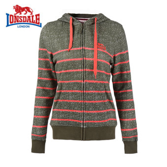 LONSDALE Plus velvet genuine New style hooded hoodie