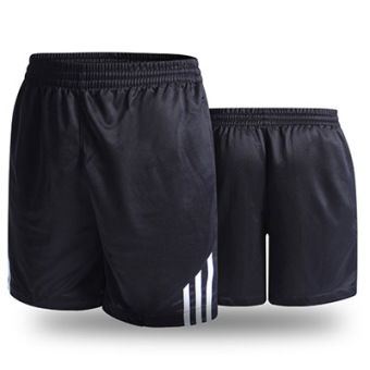 LOOESN casual New style for men and women breathable black I shorts (White)