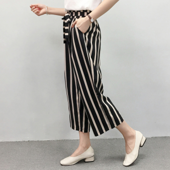 LOOESN high-waisted slimming summer ankle-length women's pants