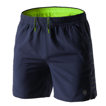 LOOESN running quick-drying fitness summer marathon shorts I shorts (Sapphire Blue)