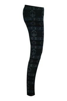 Lookssy Unisex Style Leggings (Skull Print) - 3