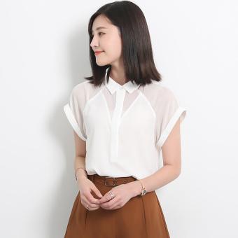Buy Latest Loose Korean Style Autumn Porous Lace Cardigan White ...