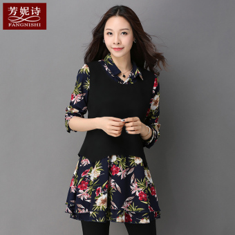 Loose Korean-style female Plus-sized New style Top T-shirt