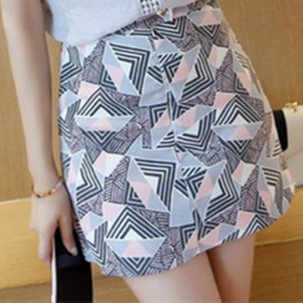 Loose Korean-style slimming Top sleeveless lace shirt (Skirt) (Skirt)