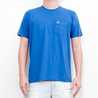LOYAL Pocket Tee in Royal Blue