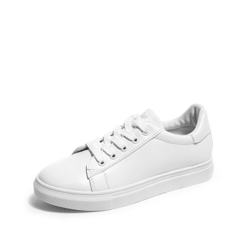 LR Korean-style summer female New style shoes white shoes (White)
