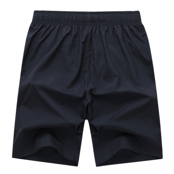 M-4XL Men Sports Drawstring Shorts With Pocket Workout Running Board Shorts Gym Quick Dry Short Pants Beach Surfing Sweatpants - 2