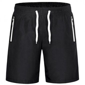 M-4XL Men Sports Drawstring Shorts With Pocket Workout RunningBoard Shorts Gym Quick Dry Short Pants Beach Surfing Sweatpants Price Philippines