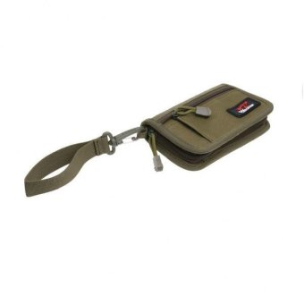 MagiDeal Tactical Military 1000D Nylon Wallet Pouch Bag Green