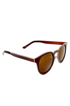 Maldives 3079 Lady Maxene Sunglasses (Brown) - picture 2