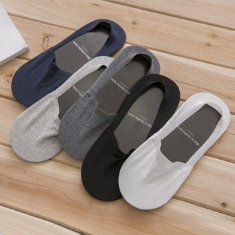 Male summer thin hidden socks no-show socks (Traceless hidden-01)