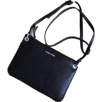 Mango Pebbled Sling Bag (Black) | Lazada PH