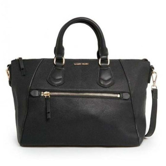 Mango Pebbled Sling Tote Bag (Black) Price Philippines