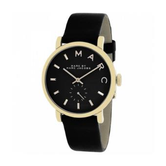Marc by Marc Jacobs Men's Black Leather Strap Watch MBM1269 - picture 2