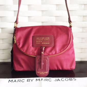 Marc Jacobs Crossbody Sling Bag in Maroon Price Philippines