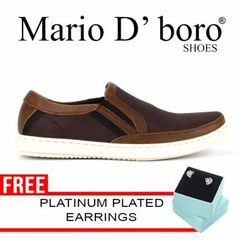 Mario D' boro Khalil Loafers (Brown) Price Philippines